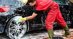 Car Tyre Cleaning
